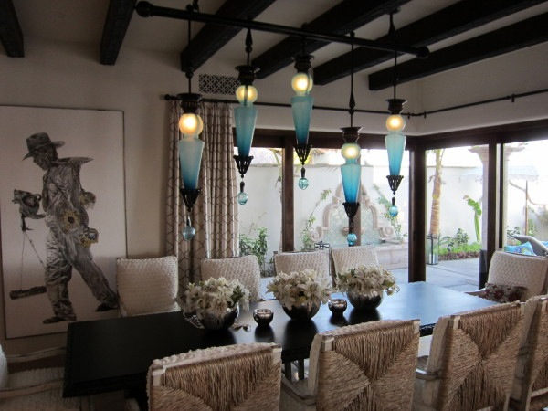 Tags Blue Chandelier Custom Dining Room
